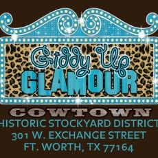 Giddy Up Glamour Cowtown