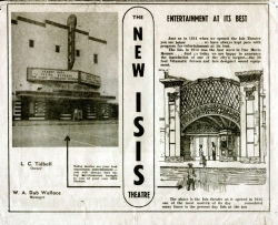 New Isis Theater 1914